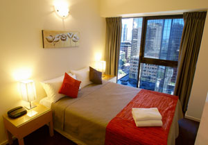 one bedroom serviced apartments melbourne