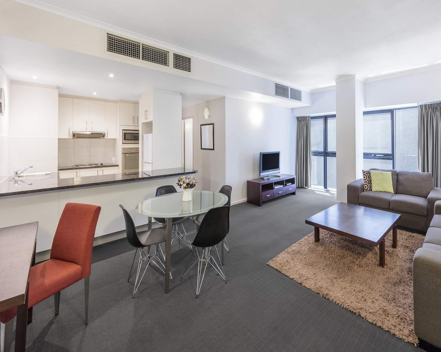 riverside apartments melbourne vic accommodation two bedroom standard apartment 1